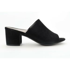 Abeo Kennedy Sandals Black Suede Size  8 ( ) 4354